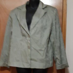Simply Manakin Double Breasted Mint Blazer